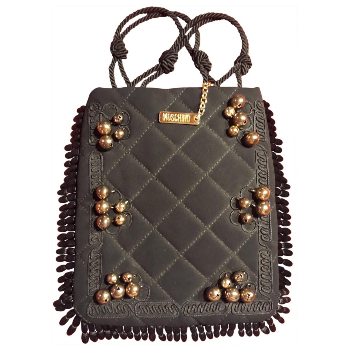 Moschino \N Black Cotton handbag for Women \N