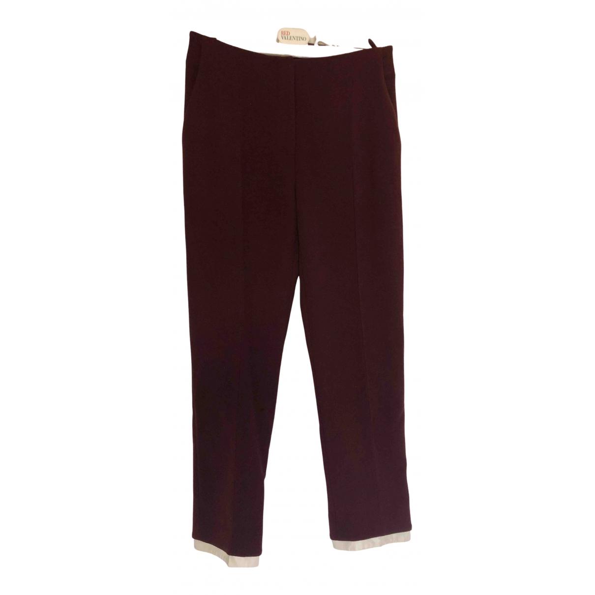 Pantalon pitillo de Lana Alexander Mcqueen