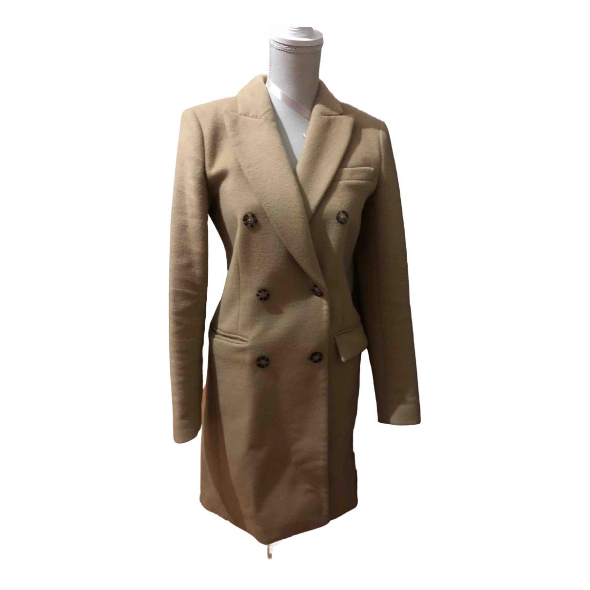 Michael Kors - Manteau   pour femme en laine - camel