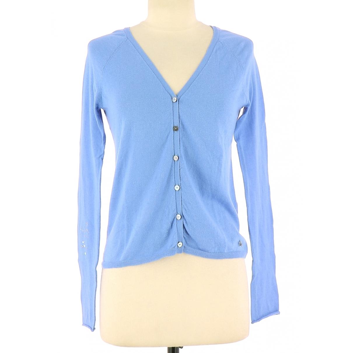 Des Petits Hauts - Pull   pour femme en coton - bleu