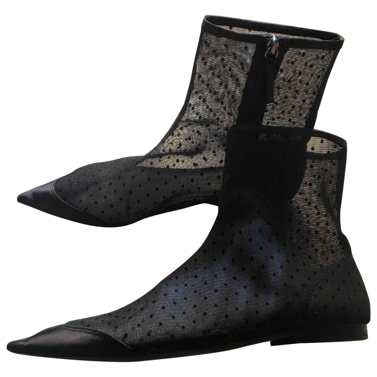 Zara - Boots   pour femme - noir