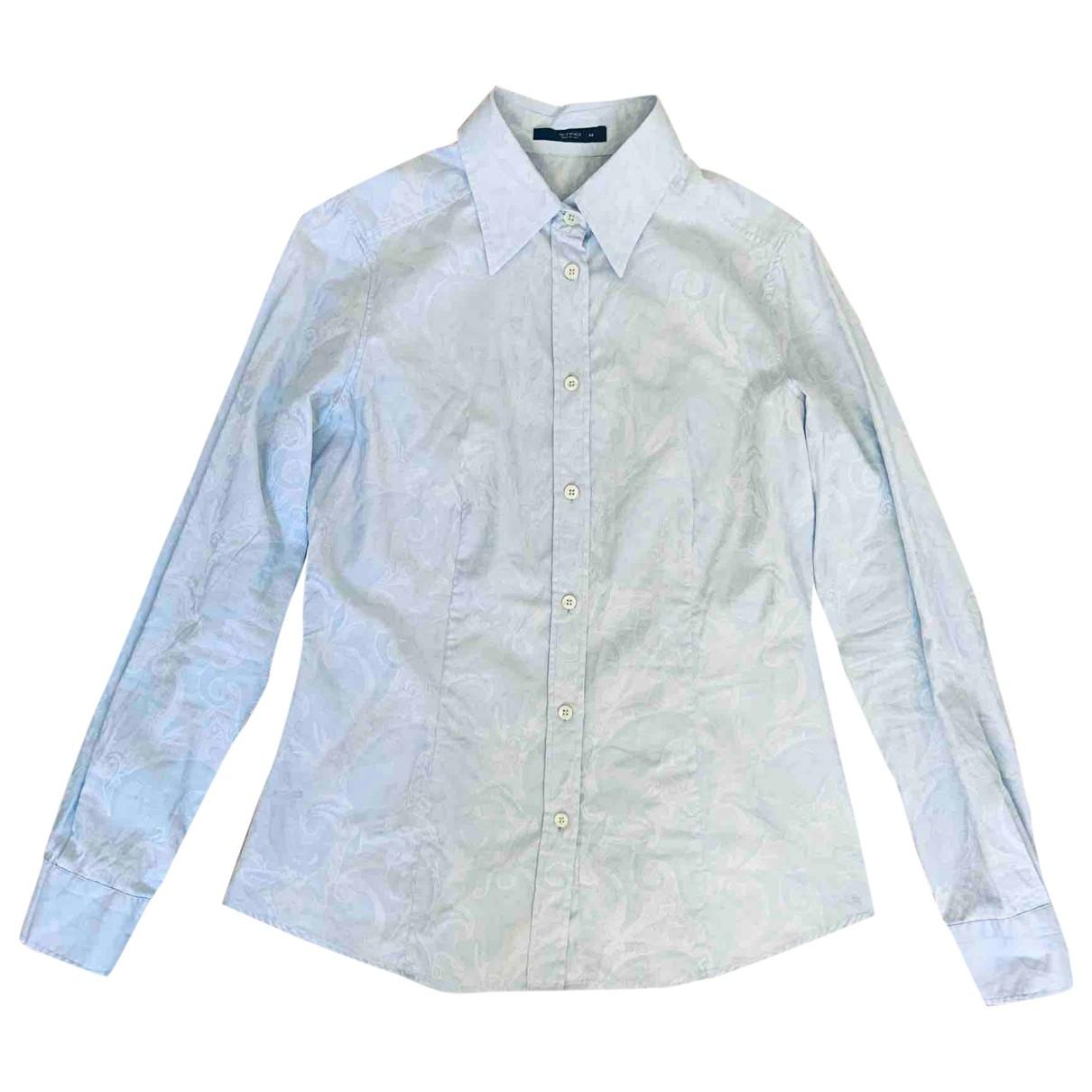 Etro \N Blue Cotton  top for Women 44 IT