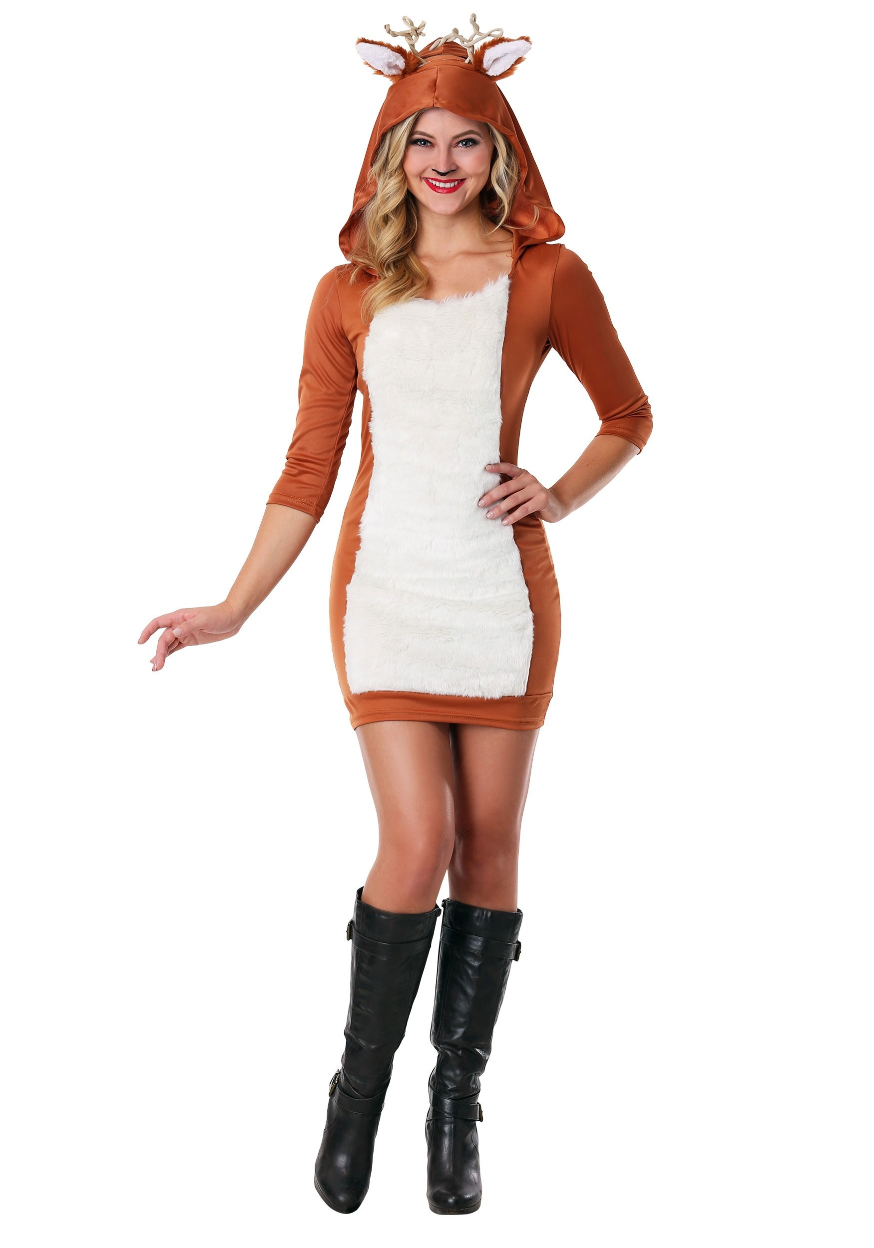 Womens Plus Size Sexy Deer Costume