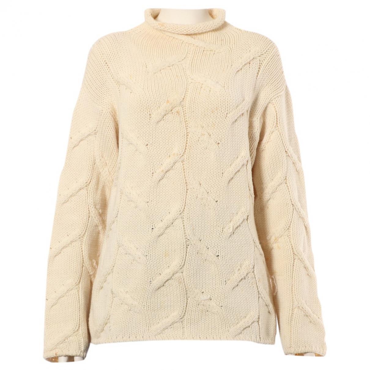 Chanel \N White Wool Knitwear for Women 38 FR