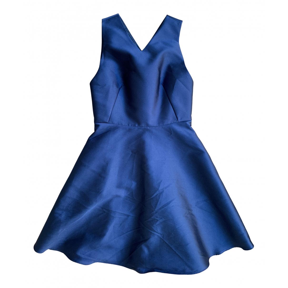 Tara Jarmon - Robe   pour femme en soie - bleu