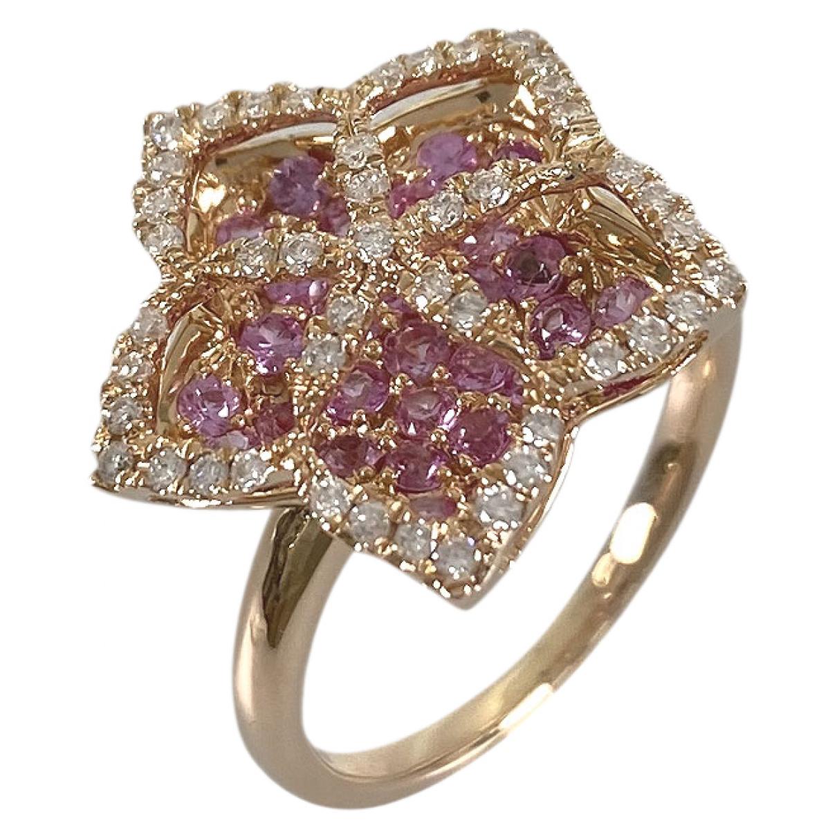 - Bague   pour femme en or rose - rose