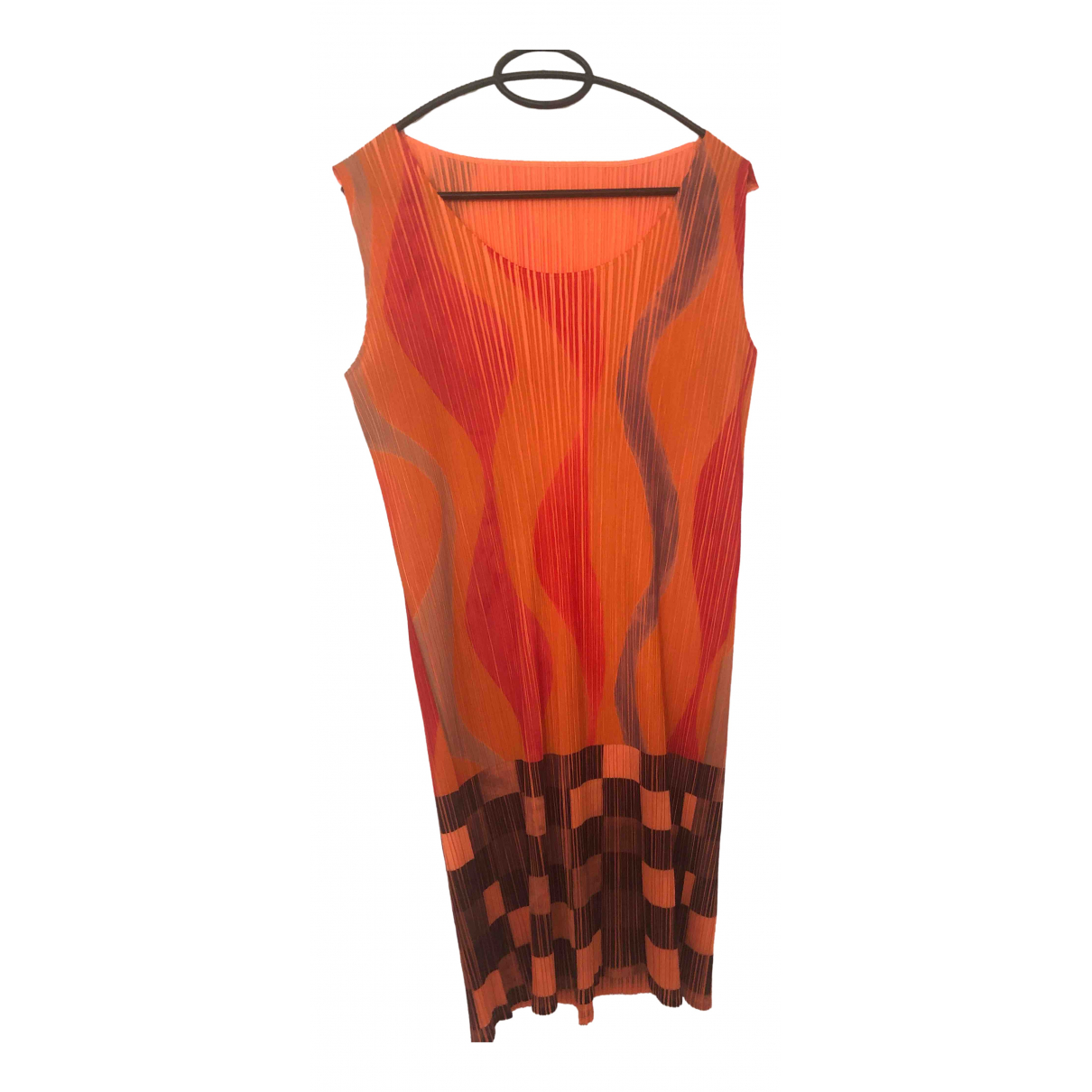 Pleats Please \N Top in  Orange Polyester