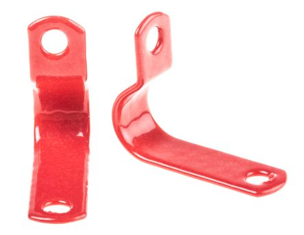 Prysmian Cable Clip Red Screw Polyester Cable Clip