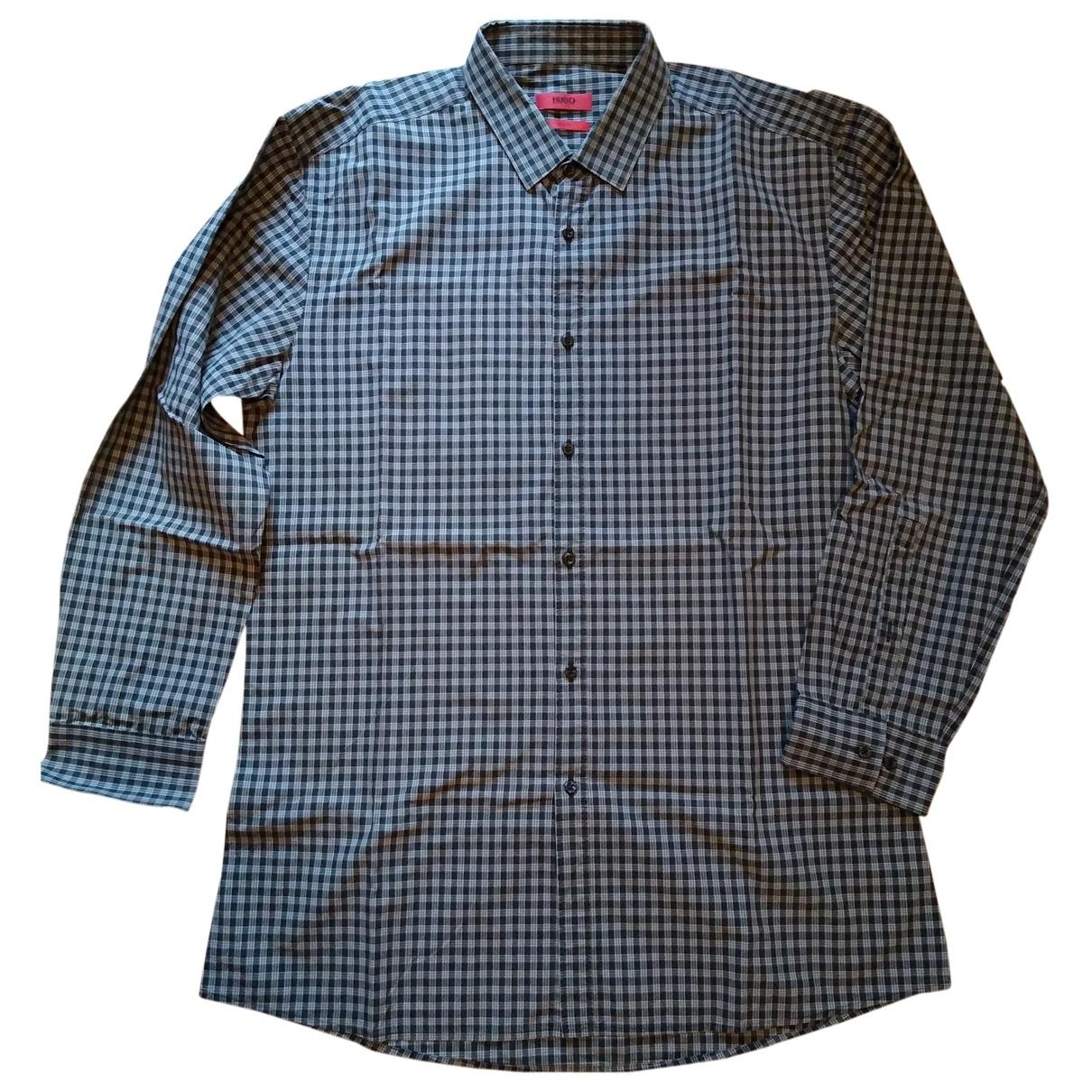 Hugo Boss - Chemises   pour homme en coton - gris