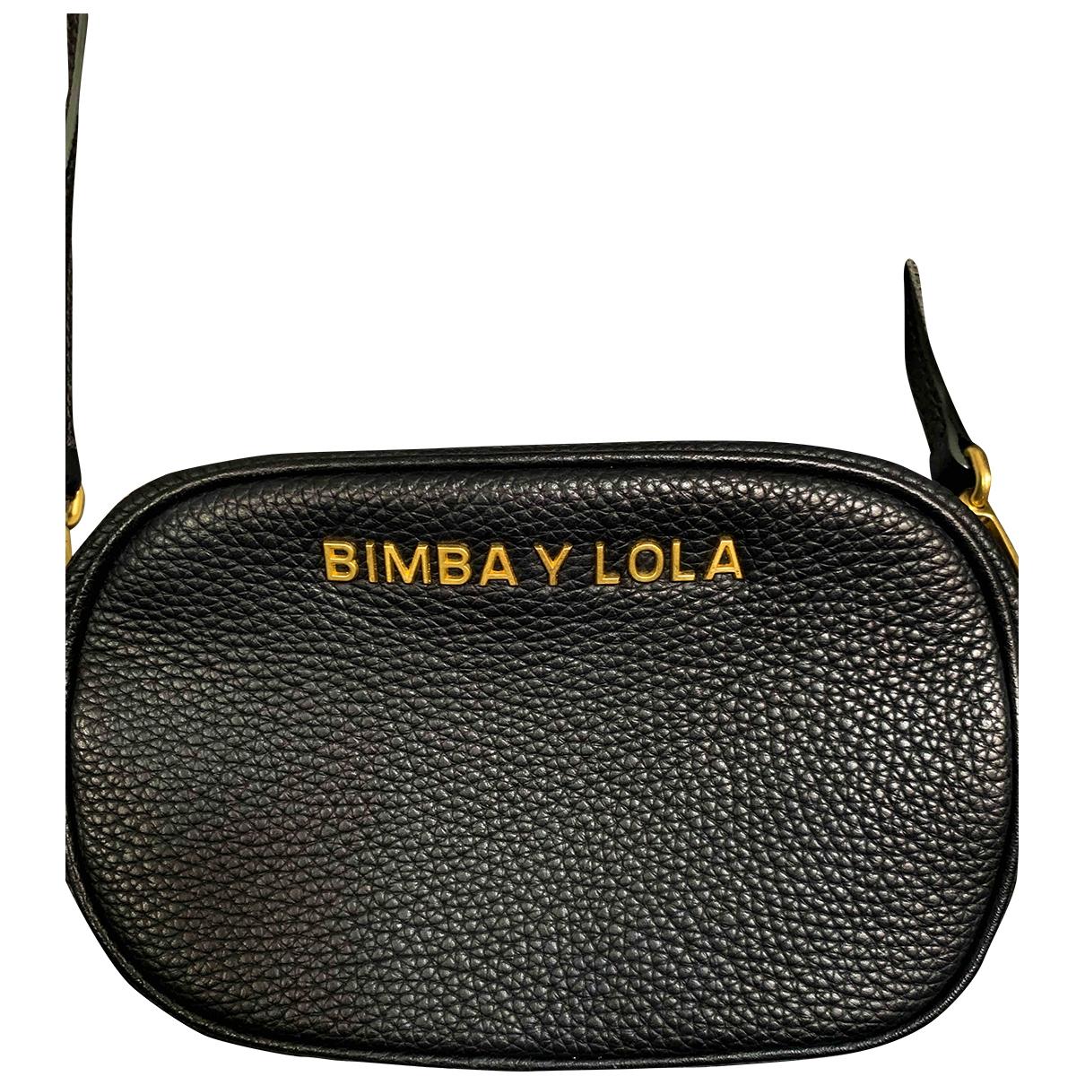 Bimba Y Lola \N Black Leather handbag for Women \N
