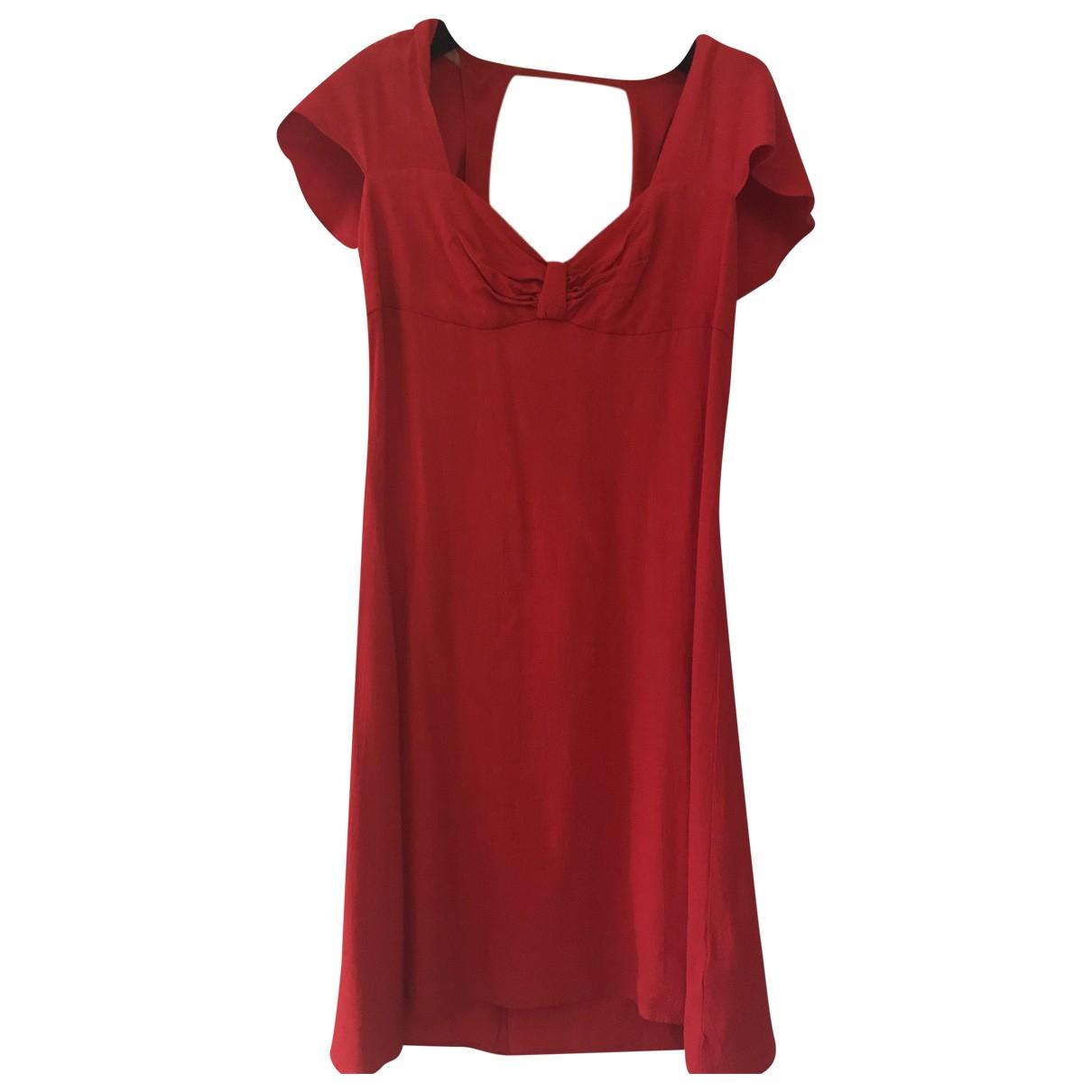 Tophop \N Kleid in  Rot Viskose