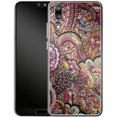 Huawei P20 Silikon Handyhuelle - Her Hair Les Fleur von Bianca Green