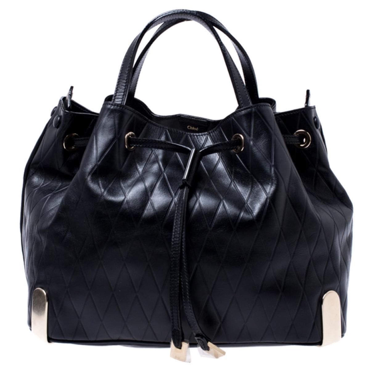 Chloé N Black Leather handbag for Women N
