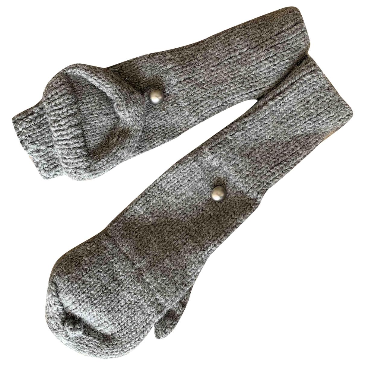 Eugenia Kim \N Handschuhe in  Grau Wolle