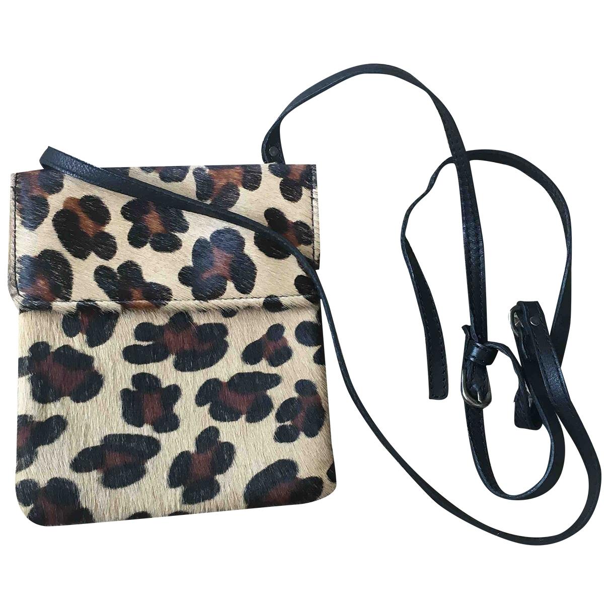 Non Signé / Unsigned \N Pony-style calfskin handbag for Women \N