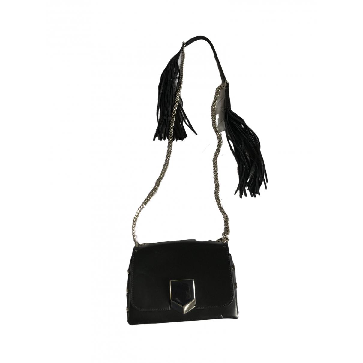 Jimmy Choo Lockett Black Leather handbag for Women \N
