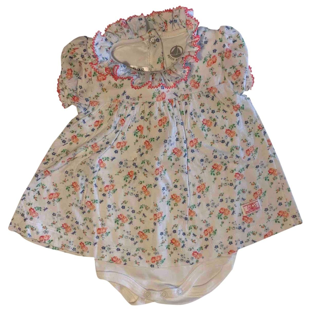 Petit Bateau - Robe    pour enfant en coton