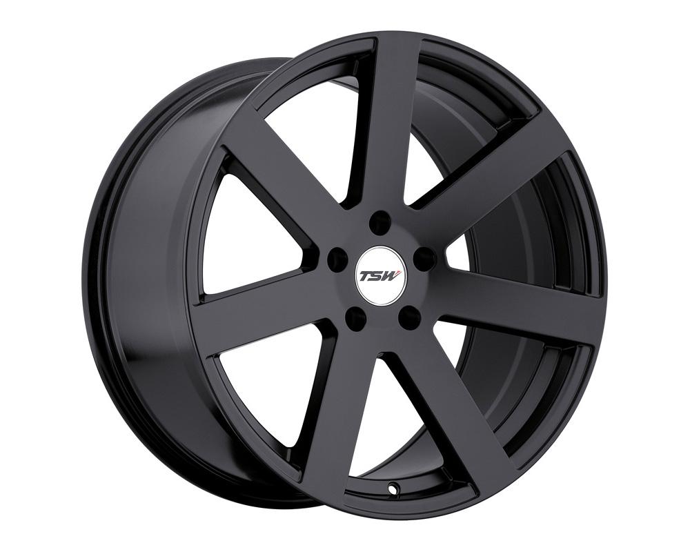 TSW Bardo Wheel 20x8.5 5x114.30 30mm Matte Black