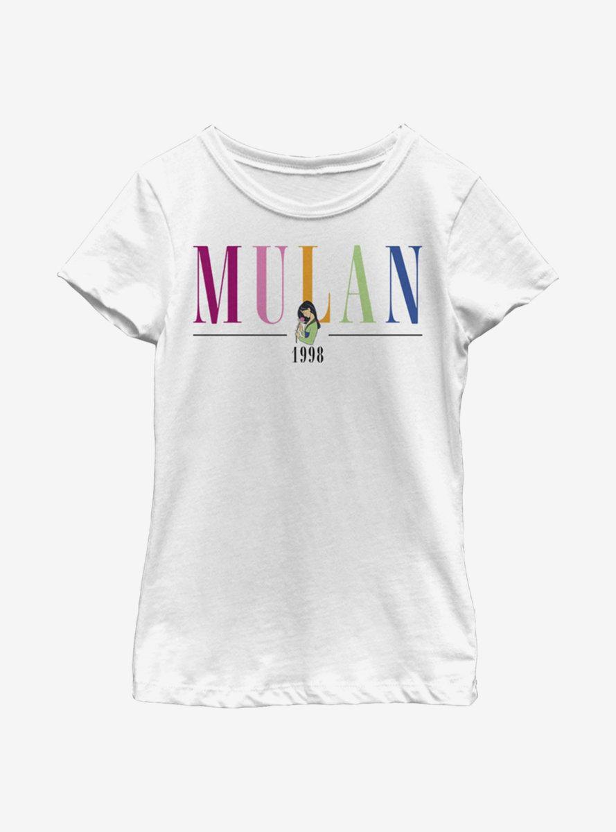 Disney Mulan Title Youth Girls T-Shirt