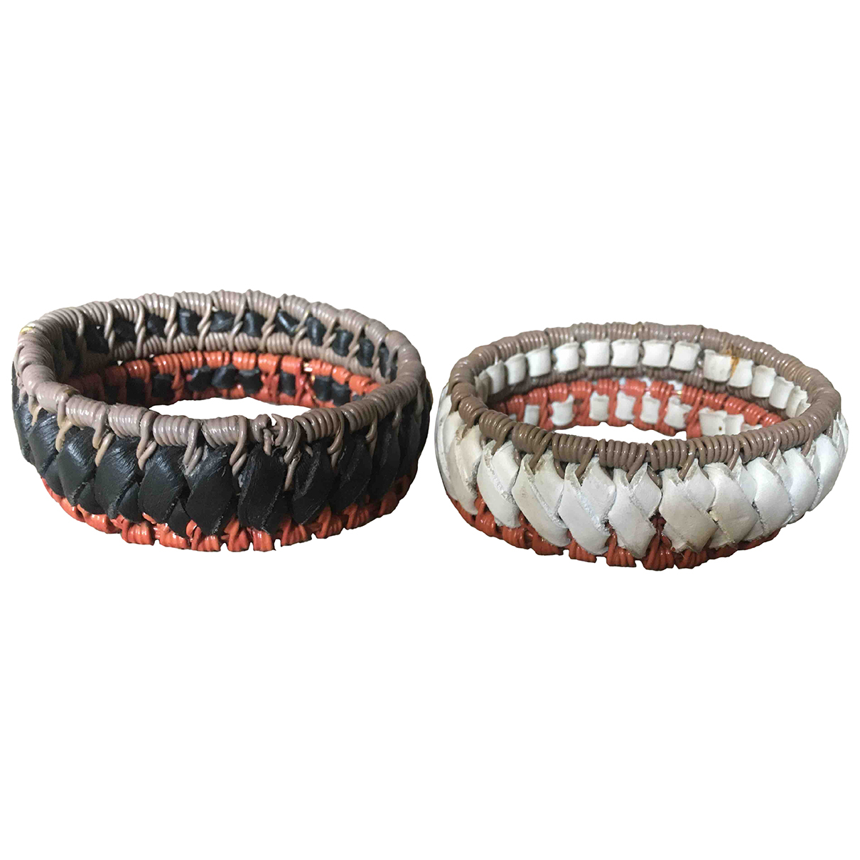 Marni - Bracelet   pour femme en cuir - multicolore
