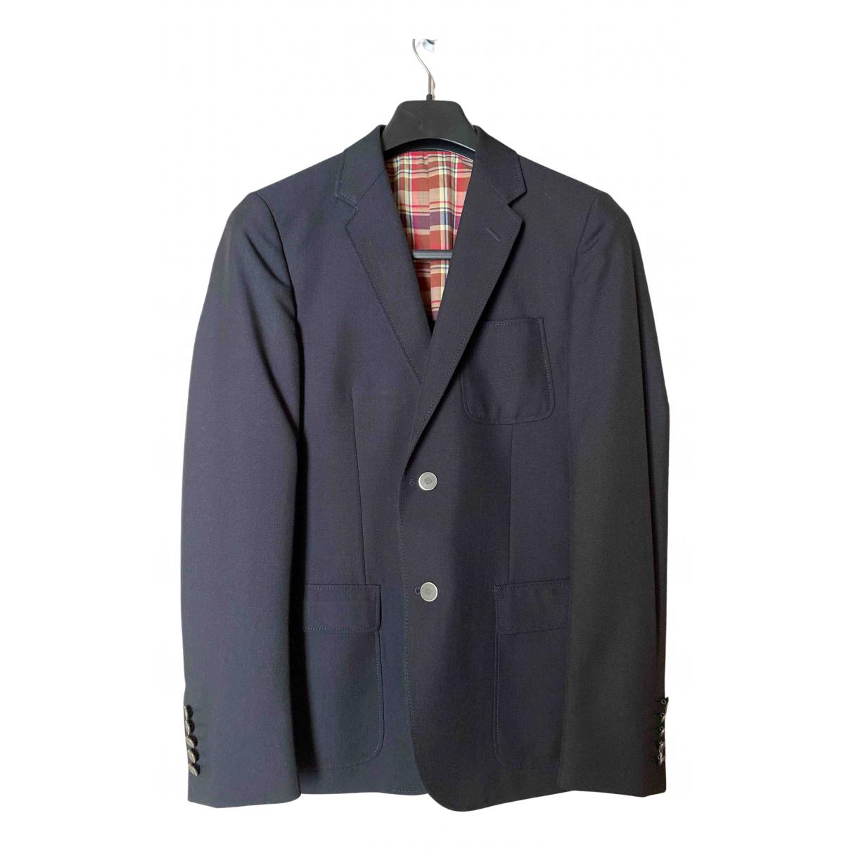 Gucci - Vestes.Blousons   pour homme en laine - bleu