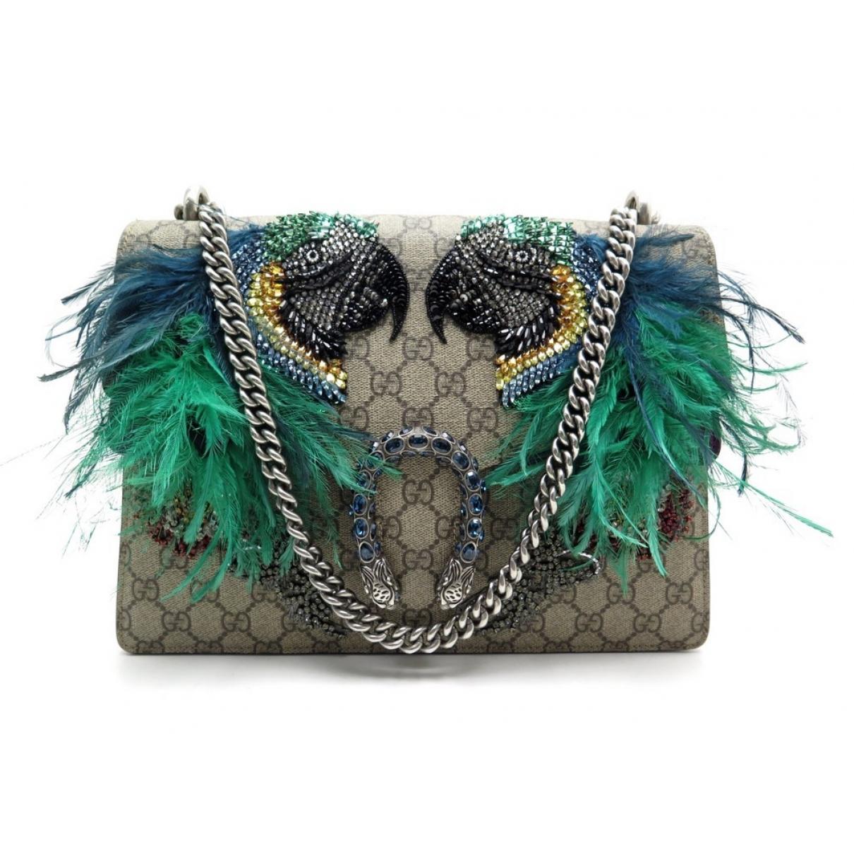 Gucci Dionysus Brown Cloth handbag for Women \N