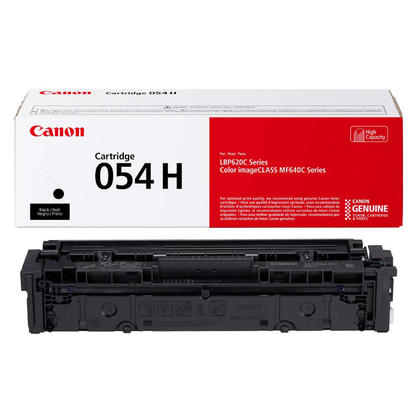Canon 054H XL CRG 054B H 3028C001 Original Black Toner Cartridge High Yield