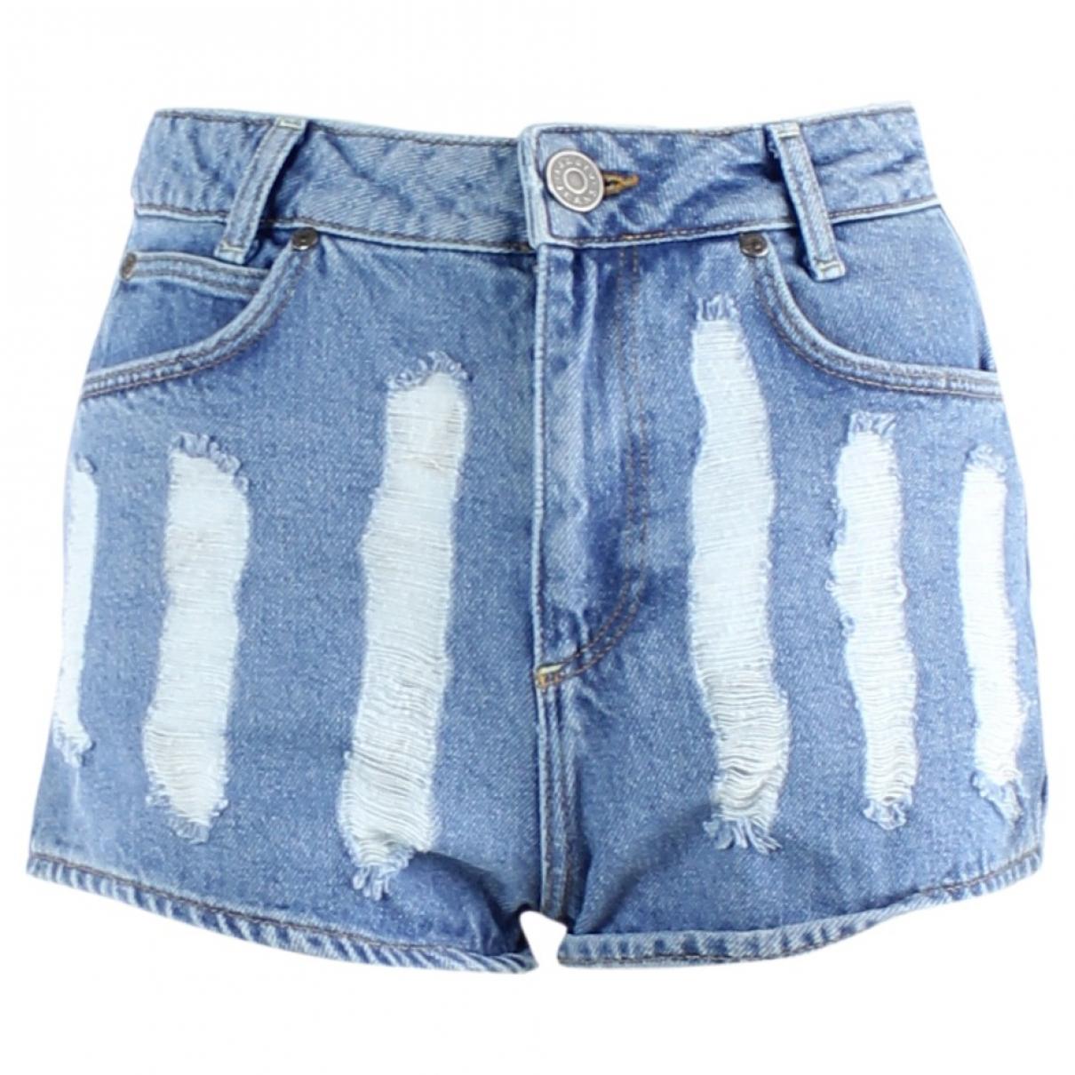Sandro \N Shorts in  Blau Denim - Jeans