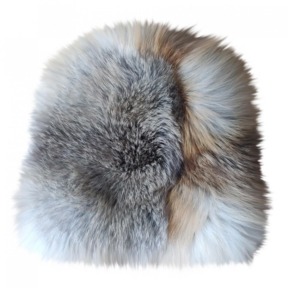 Malo \N Camel Fur hat for Women M International