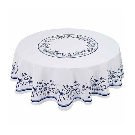 Avanti Blue Portofino Tablecloth, One Size , Multiple Colors