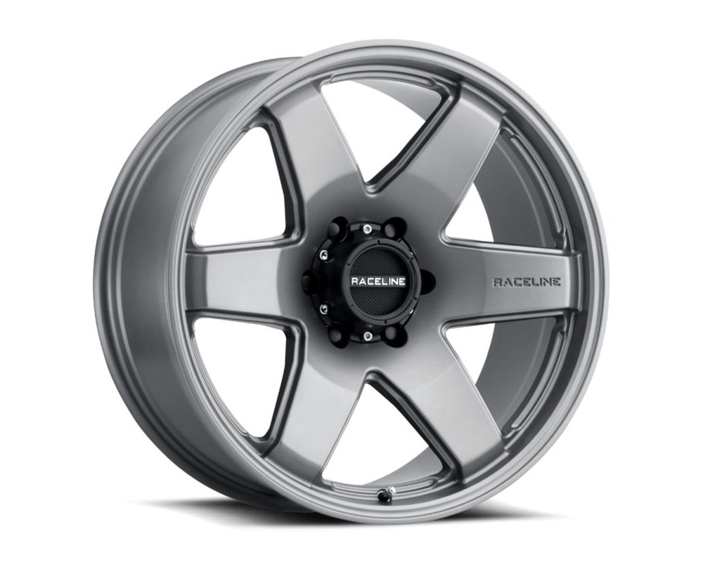 Raceline 942GS Addict Greystone Wheel 22X9.5 5X139.7 15mm