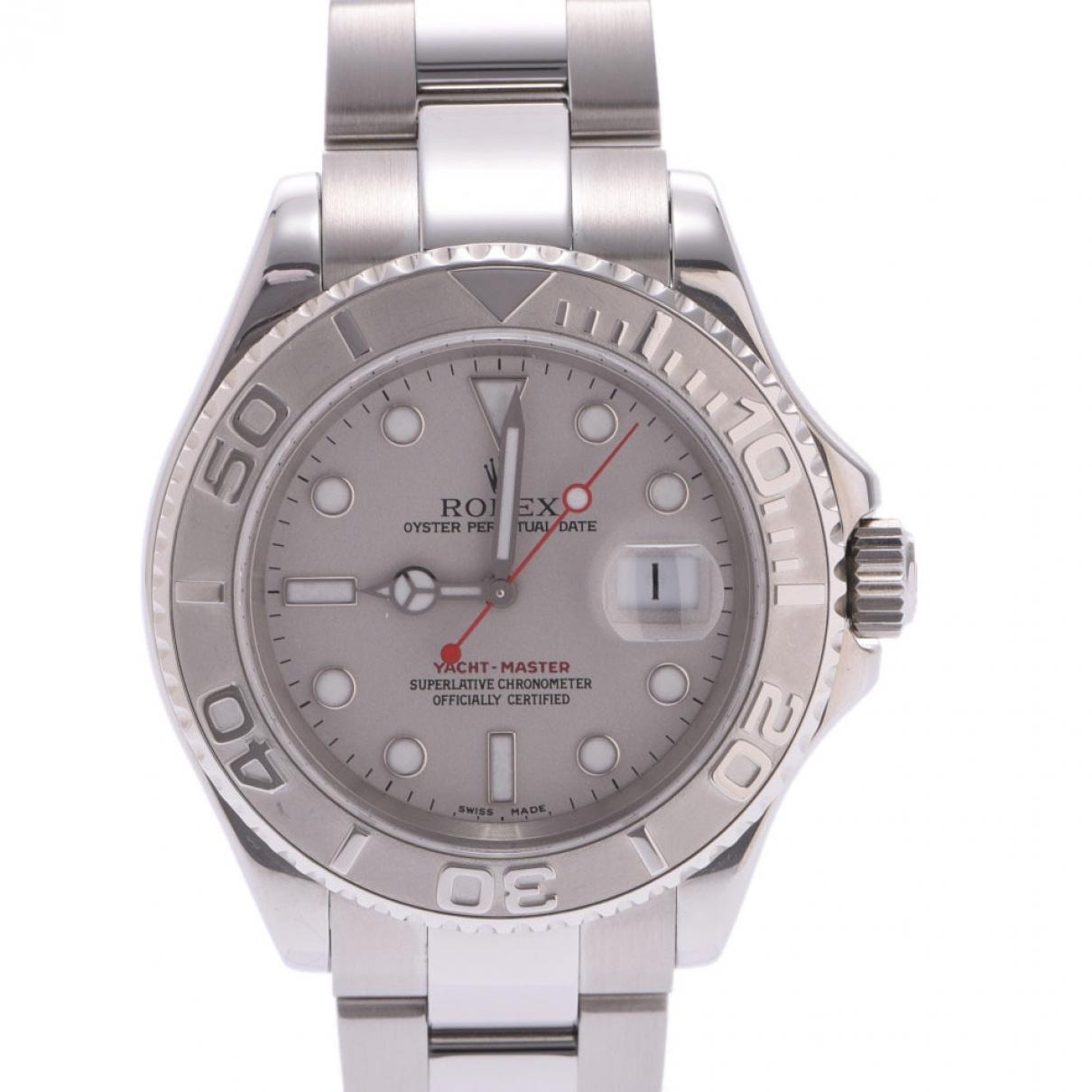 Rolex Yacht-Master Uhr in Stahl