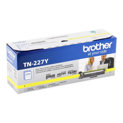 Brother TN227Y cartouche de toner originale jaune haute capacité