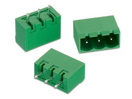 Wurth Elektronik , WR-TBL, 311, 16 Way, 1 Row, Vertical PCB Header (90)