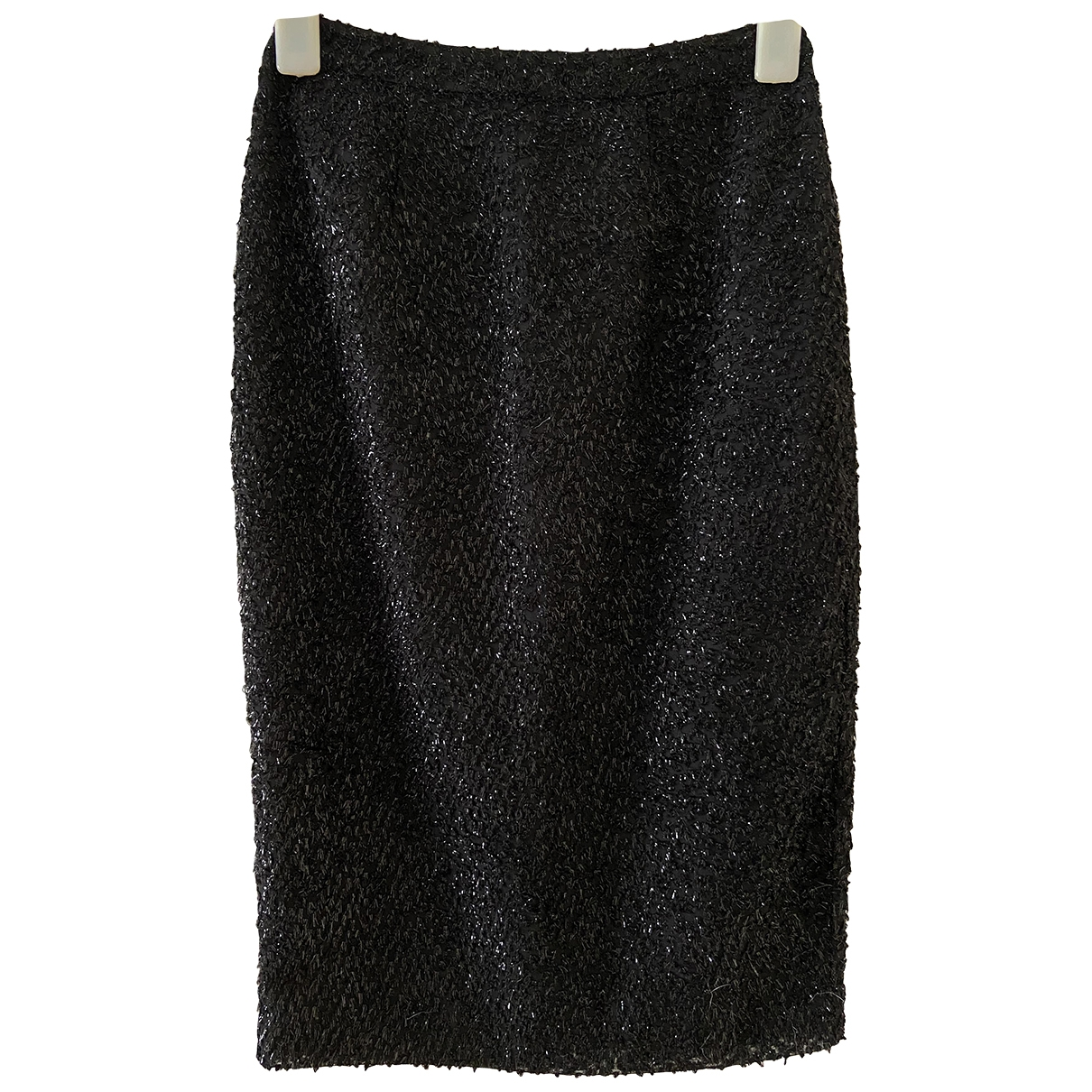Reiss \N Black Glitter skirt for Women 4 UK