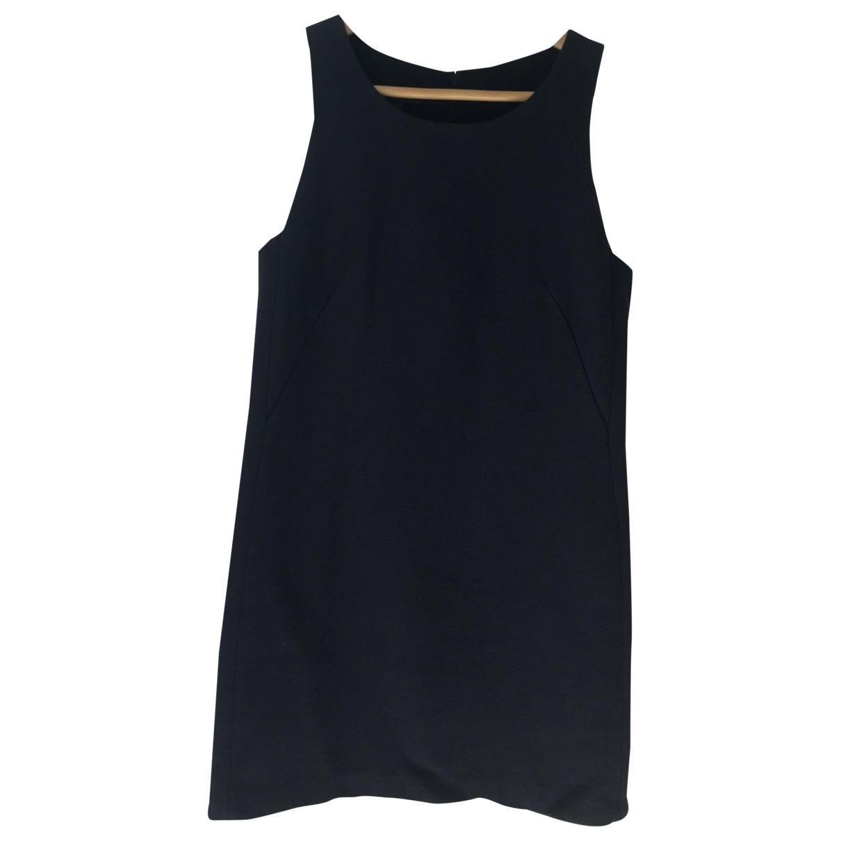 Mango - Robe   pour femme en coton - bleu