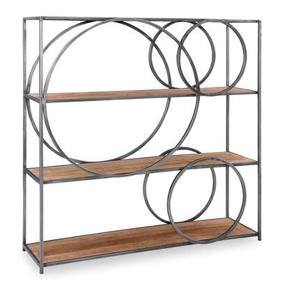 D1242A19 Adler Collection Circle Bookcase in