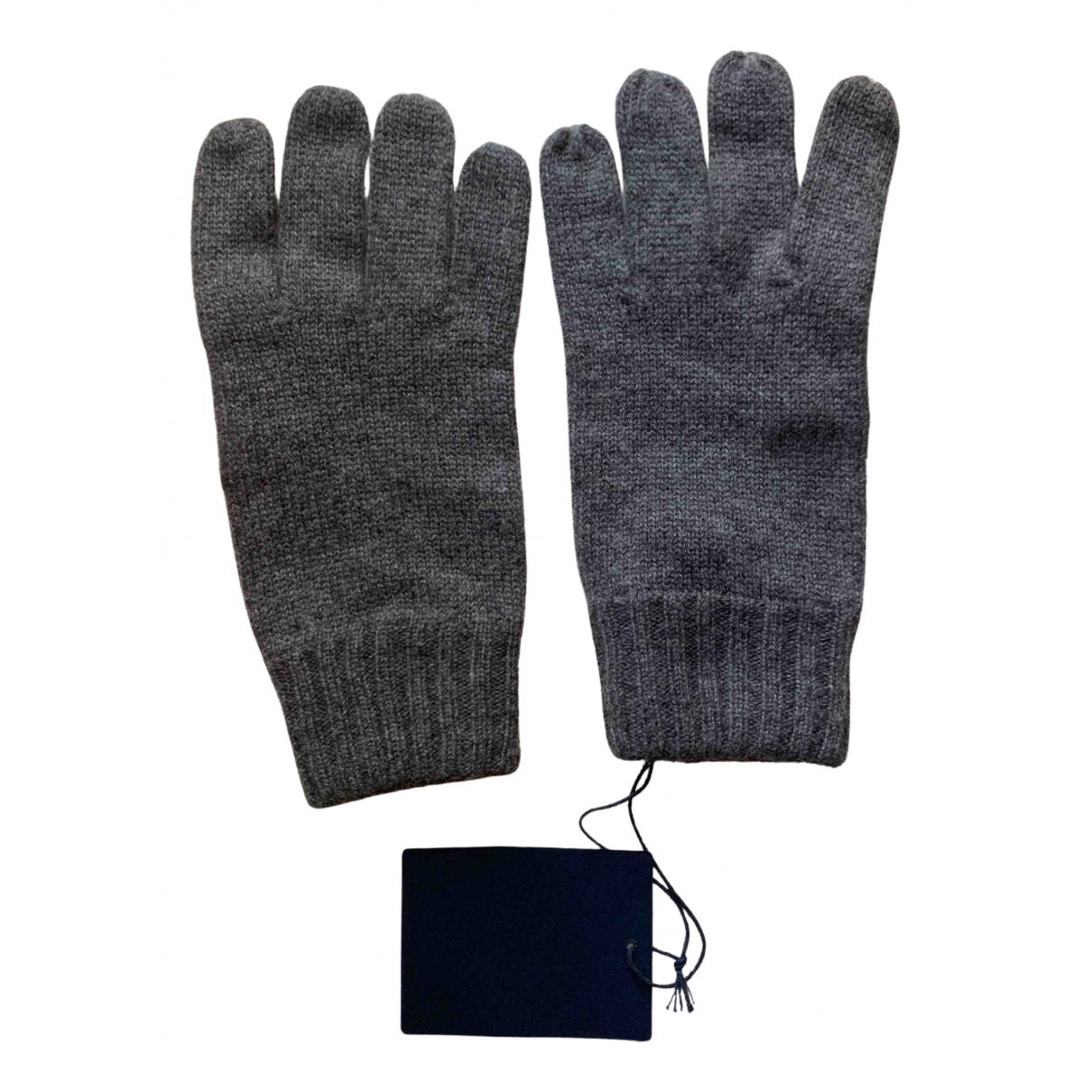 Ballantyne N Grey Cashmere Gloves for Women M International