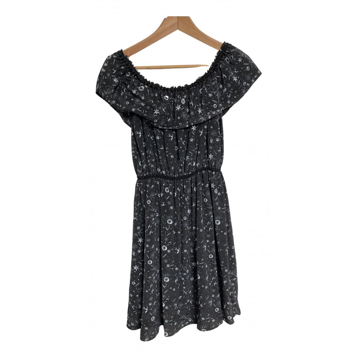 The Kooples \N Kleid in  Anthrazit Polyester