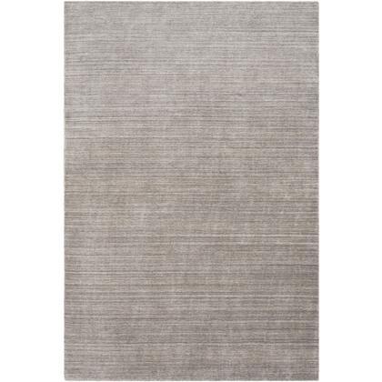 Costine CSE-1004 2 x 3 Rectangle Modern Rug in Charcoal  Medium Gray