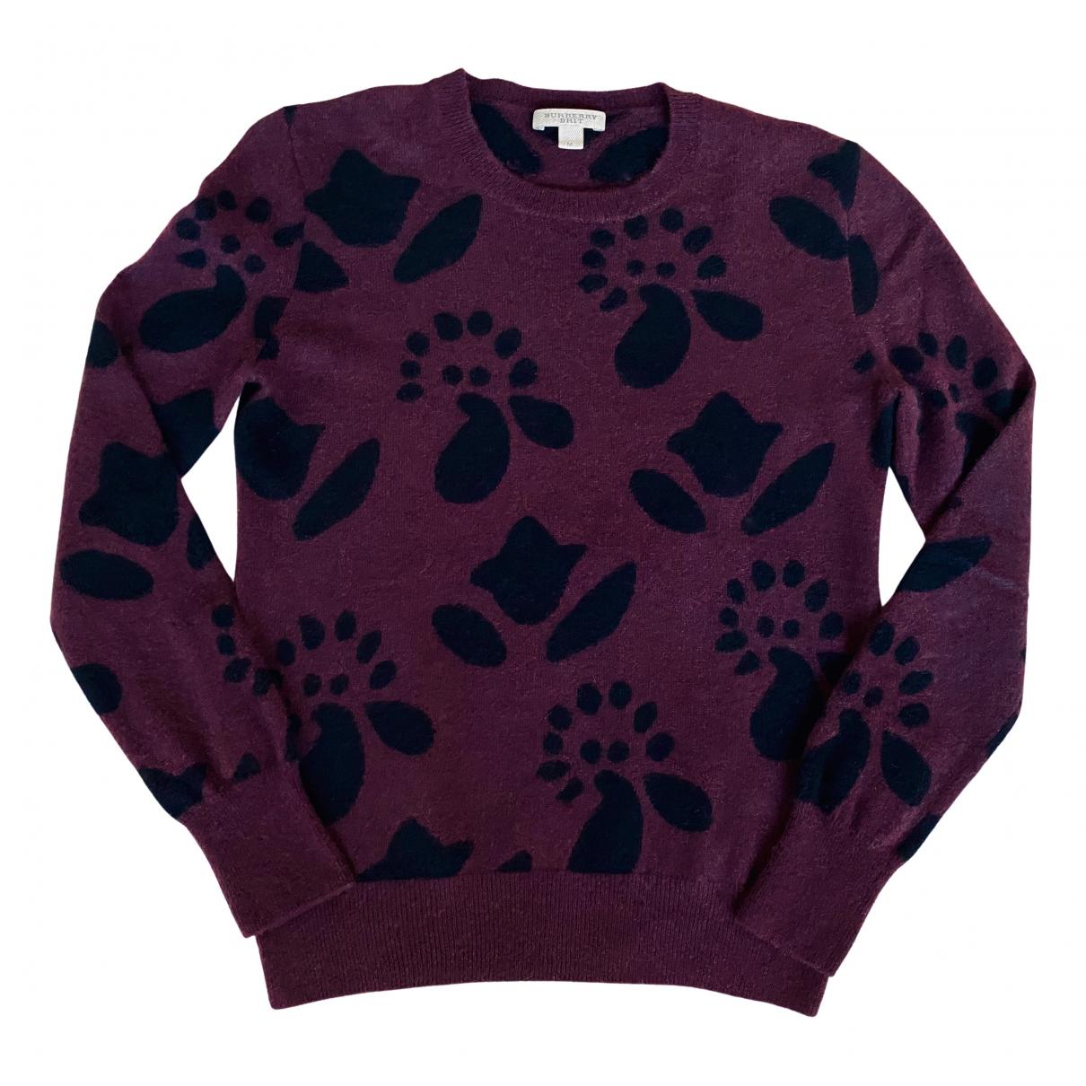 Burberry \N Purple Cashmere Knitwear for Women M International