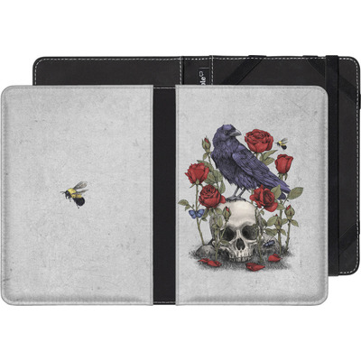 Pocketbook Touch Lux eBook Reader Huelle - Memento Mori von Terry Fan