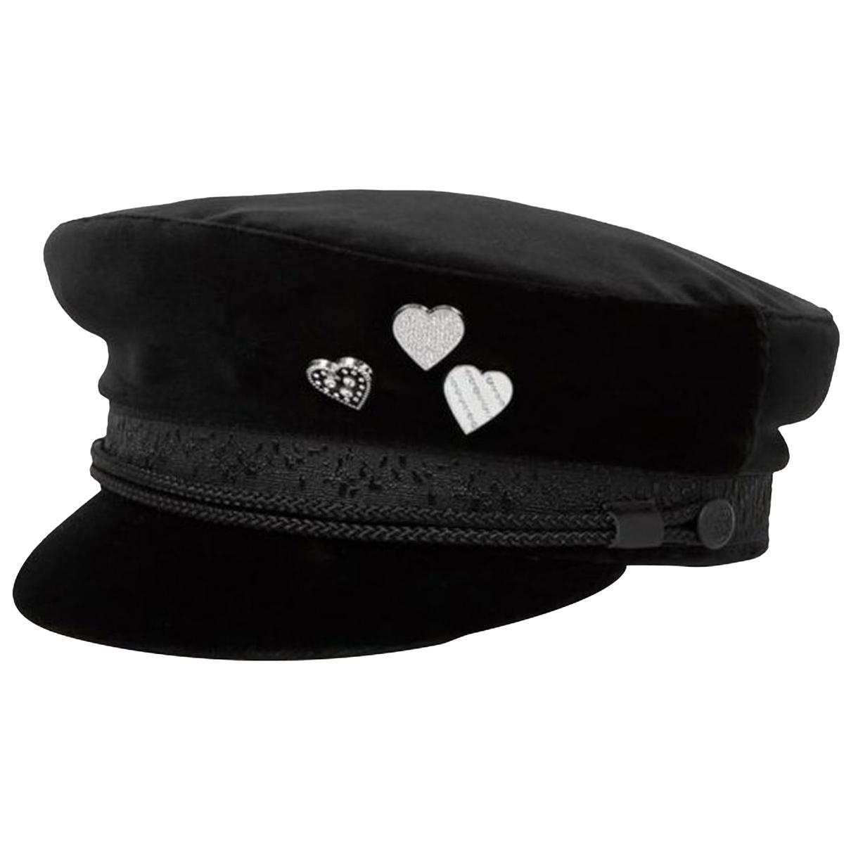 The Kooples N Black Cotton hat for Women 57 cm