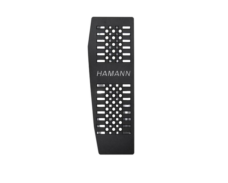 Hamann 80034052 Black Anodized Aluminium Foot Rest BMW M4 F82 | F83 LHD 15-20