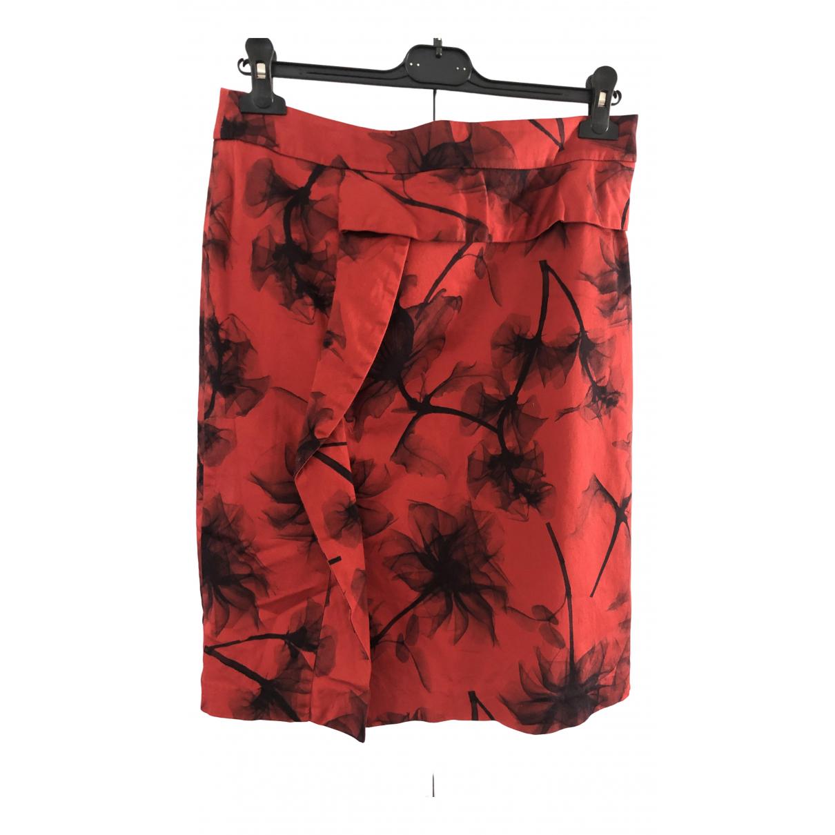 Xandres - Jupe   pour femme en coton - rouge