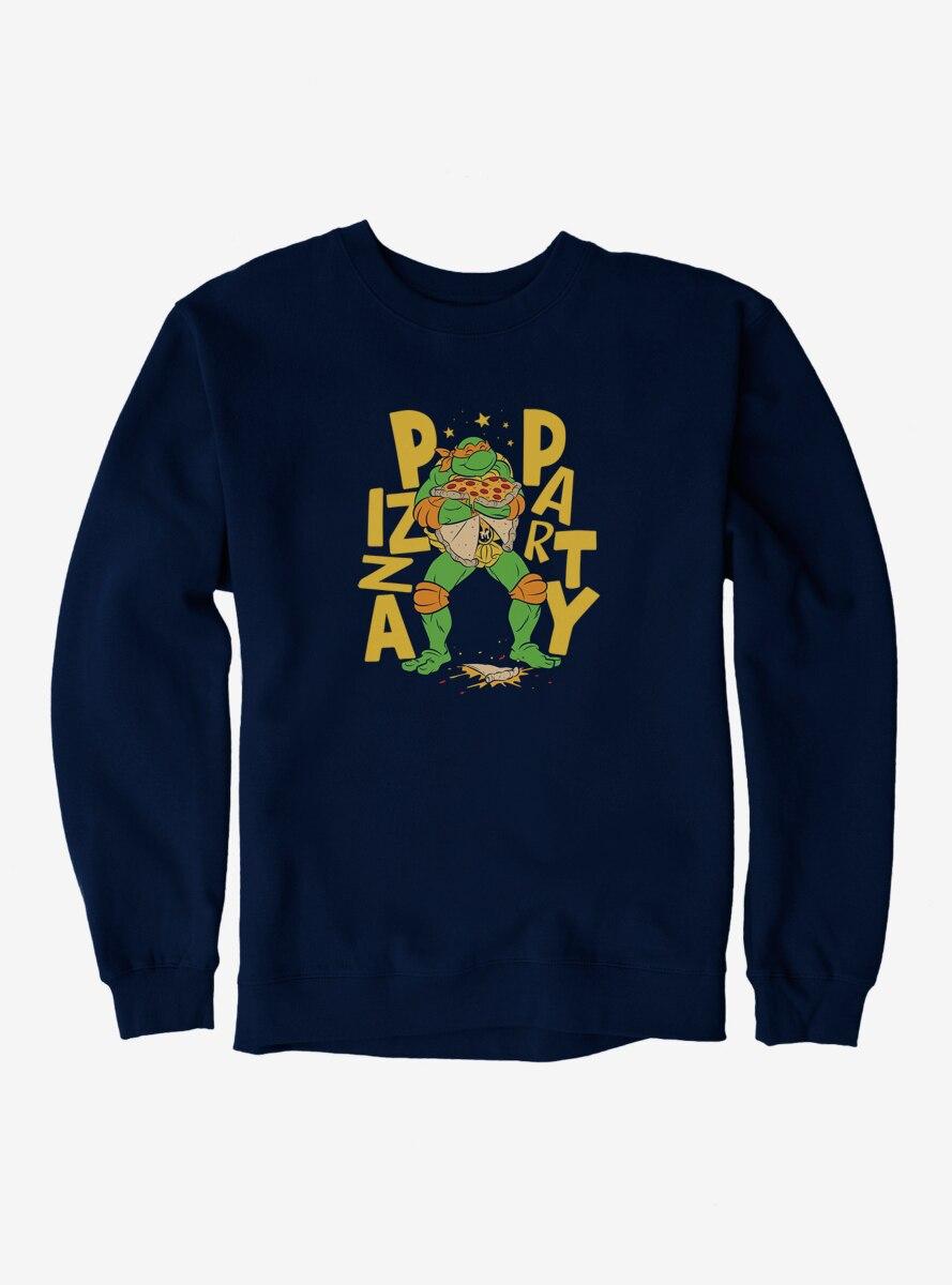 Teenage Mutant Ninja Turtles Michelangelo Pizza Party Sweatshirt