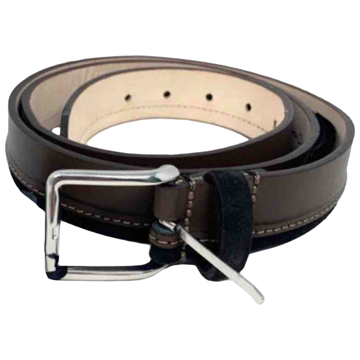 Massimo Dutti \N Brown Leather belt for Men M international