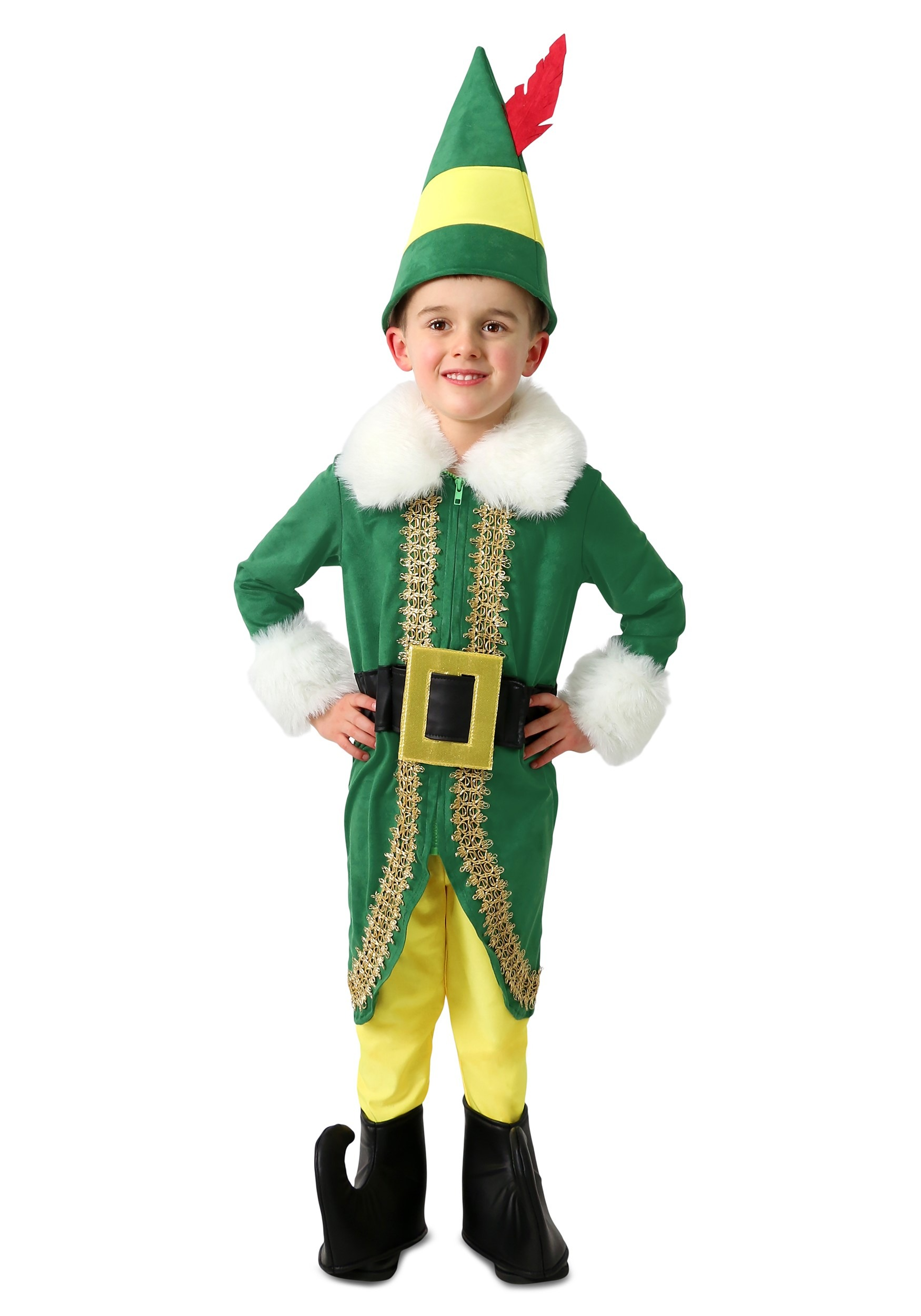 Child Buddy the Elf Deluxe Costume