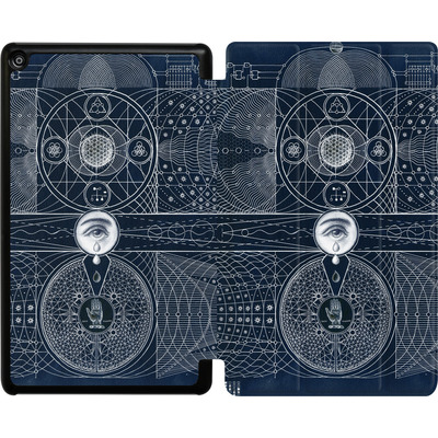 Amazon Fire HD 8 (2017) Tablet Smart Case - Eternal Universe von Daniel Martin Diaz