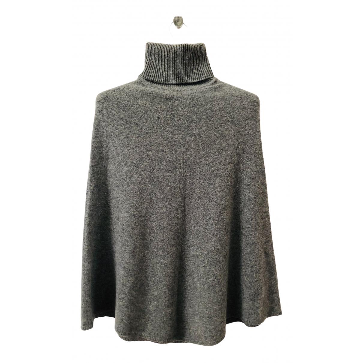 - Pull   pour femme en cachemire - gris